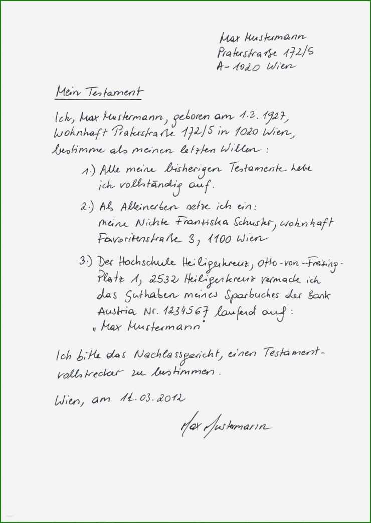 Berliner Testament Ohne Kinder