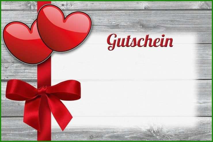 Geschenk Gutschein Vorlage - Kostenlose Vorlagen zum