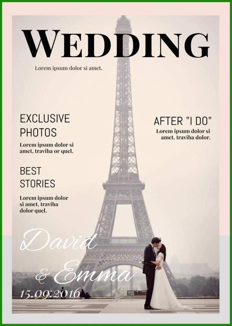 Hochzeitszeitung Goldene Hochzeit Vorlage - Kostenlose