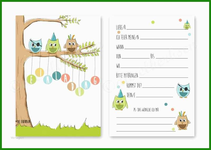 kindergeburtstag einladung vorlagen kostenlos ausdrucken