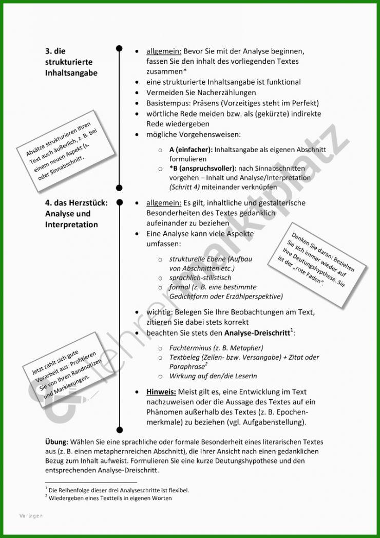 Kurzgeschichte Analyse Muster - Kostenlose Vorlagen zum