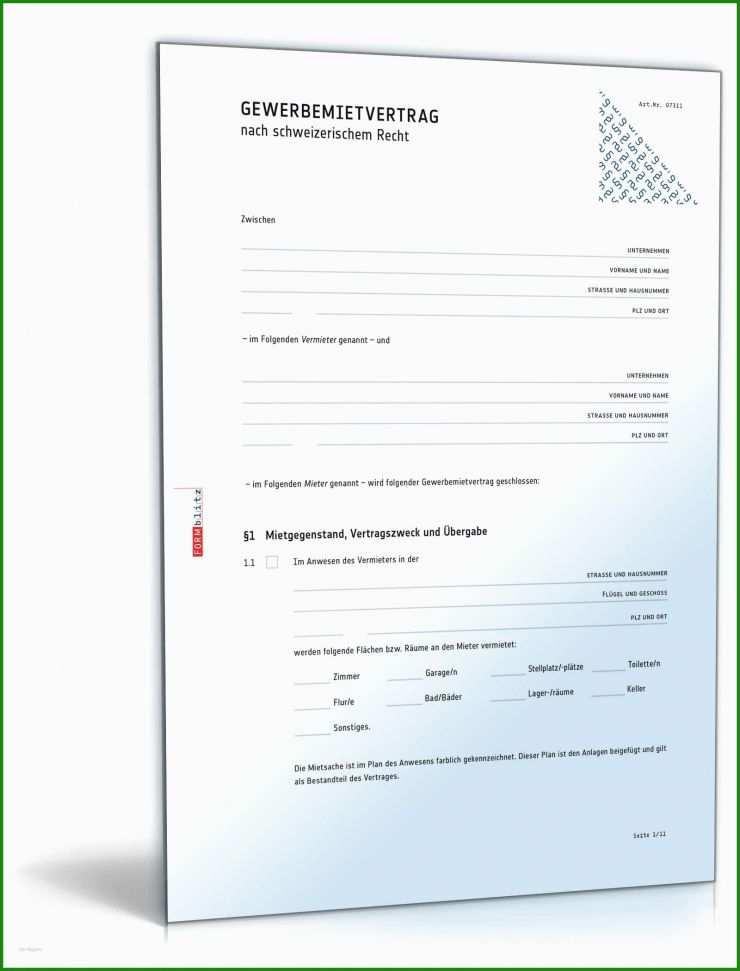 Standard Untermietvertrag Vorlage - Kostenlose Vorlagen