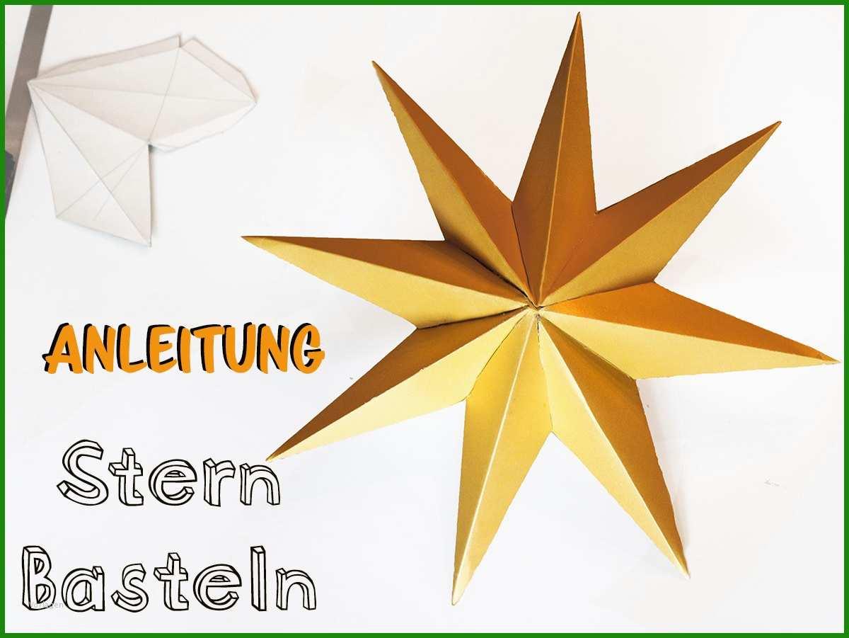 Sterne Basteln 3d