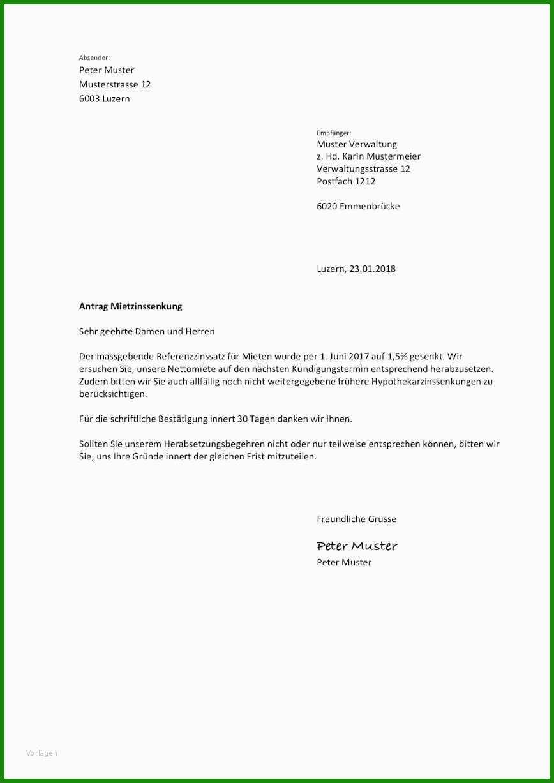 Vorlage Brief Vermieter - Kostenlose Vorlagen zum Download