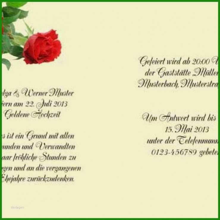 Vorlage Einladung Hochzeit Word - Kostenlose Vorlagen zum